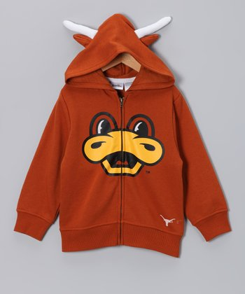 Texas Longhorns Zip-Up Hoodie - Toddler & Kids