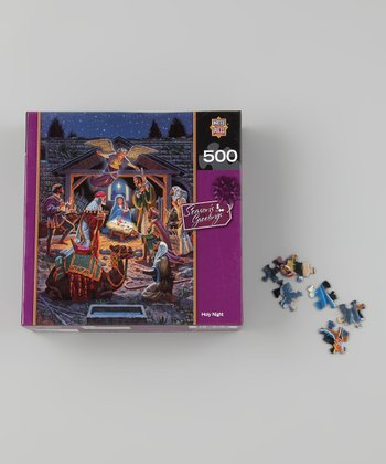 Masterpieces Holy Night Holiday Puzzle