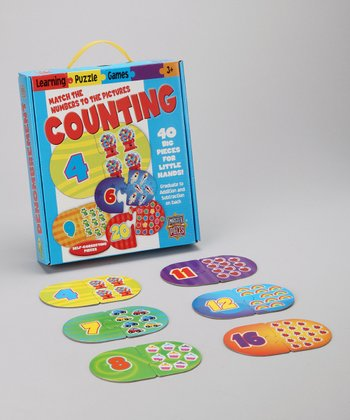 Masterpieces Counting Puzzle Card Game