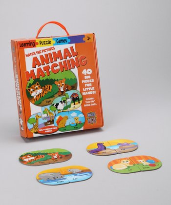 Masterpieces Animal Matching Puzzle Card Game