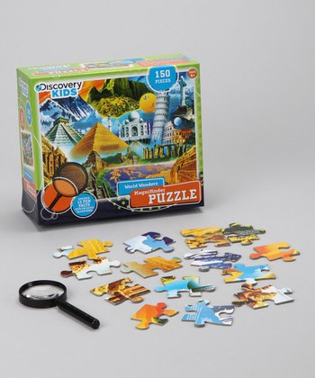 Masterpieces Wonders of the World Magnifinder Puzzle