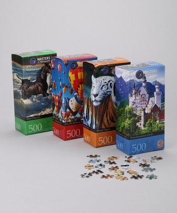 Masterpieces Masters of Photography Puzzle Set