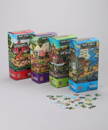 Masterpieces Main Street Puzzle Set