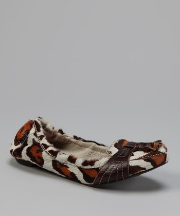 White Leopard Avenue Loafer