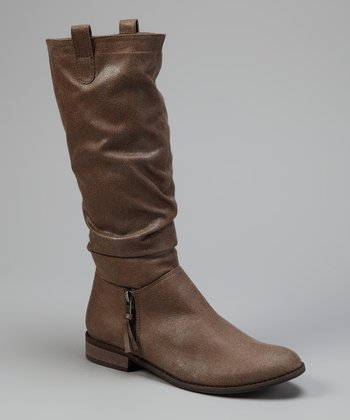 Taupe Major Boot
