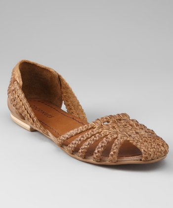 Tan Native Hurache Sandal