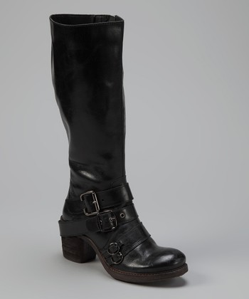 Black Outlawed Boot