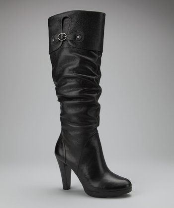Black Vamp Boot