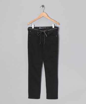 Dusty Coal Nigel Skinny Pants - Boys
