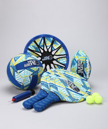 Blue Beach Toy Set
