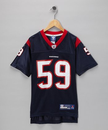Mazz Navy Texans 'Ryans' Replica Jersey - Boys