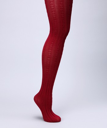 Biking Red Fashion Tights