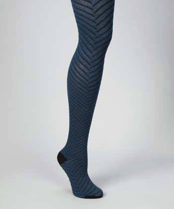 Poseiden Optic Chevron Tights - Women