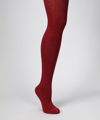 Cabernet Cable-Knit Tights - Women