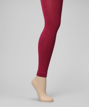 Berry Fleece-Lined Leggings - Women