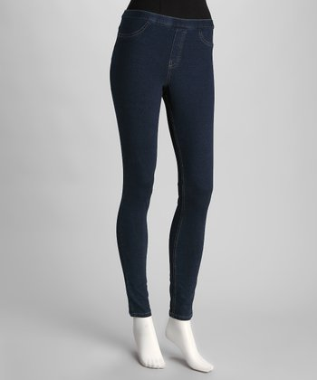 Blue Real Denim Jeggings