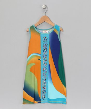 Turquoise Treasure Dress - Toddler & Girls