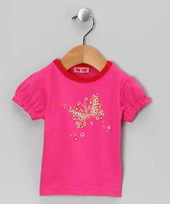 Fuchsia & Purple Tibor Tee - Infant