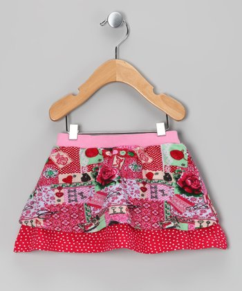 Fuchsia Pink Ophelia Skirt - Infant