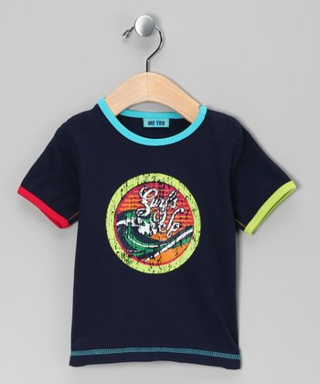 Dress Blue Sidney Tee - Infant