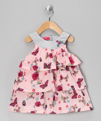 Coral Blush Utylle Spencer Dress - Infant