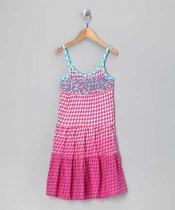 Almond Blossom Stenia Dress - Girls