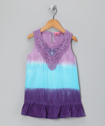 Simili Tie-Dye Unna Tunic - Girls