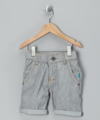 Light Blue Terkel Shorts - Boys