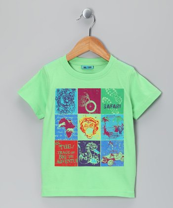 Summer Green Ulric Tee - Toddler & Kids