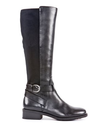 Black Vacchetta Dasha Boot