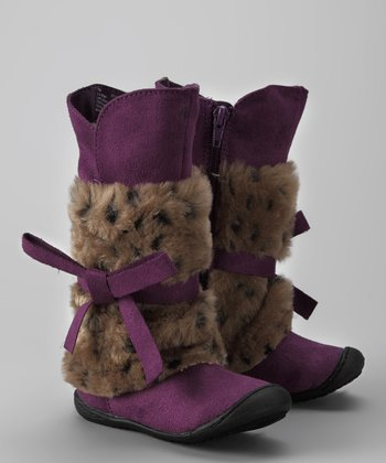 Purple Lil Remy Boot