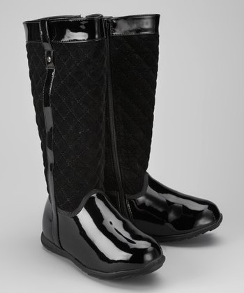 Black Lil Rita Rain Boot