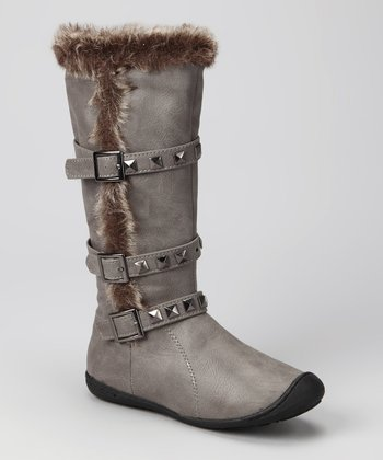 Grey Regan Tall Boot