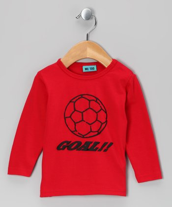 Red Soccer Tee - Toddler & Boys