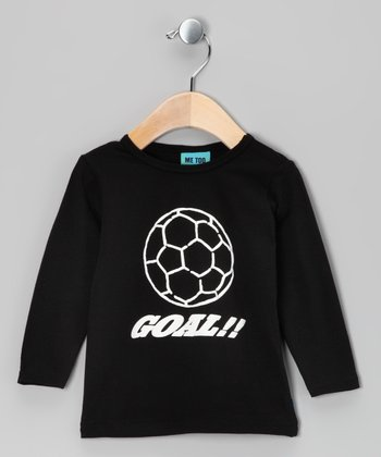 Black Soccer Tee - Toddler & Boys