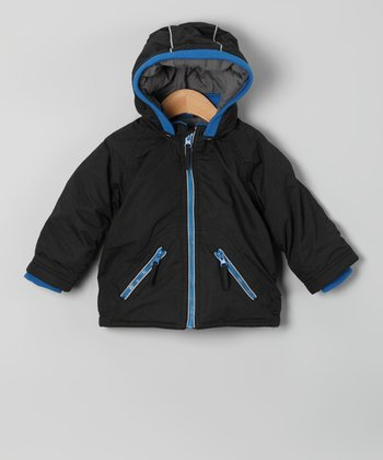 Black & Blue Coat - Infant, Toddler & Boys
