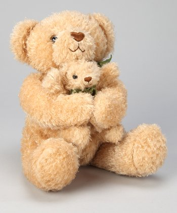 Cinnamon & Sugar Mother & Baby Bear Plush Toy