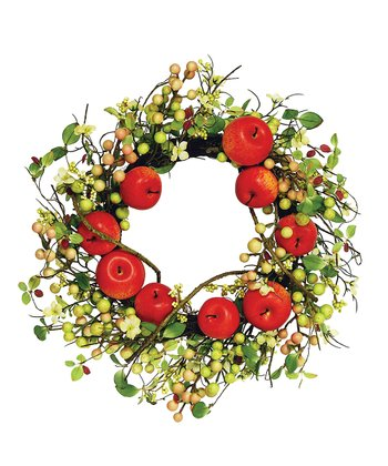 Red Apple & Berry Wreath