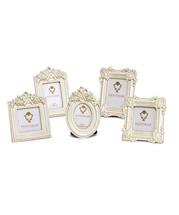 Ivory Mini Photo Frame Set