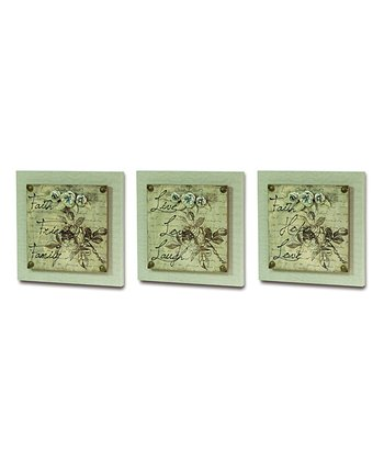 Ivory & Brown Wall Canvas Set