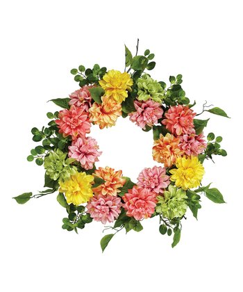 Dahlia Foliage Wreath