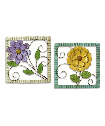Floral Wall Art - Set of Two