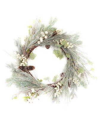 Green Pine & Berry Wreath