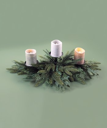 Green Pine & Cedar Centerpiece