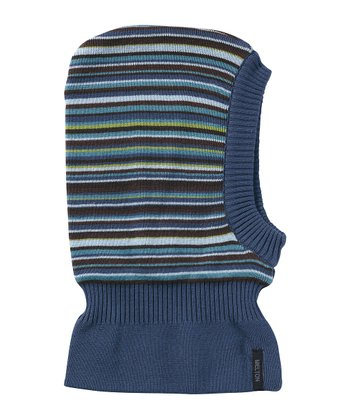 Navy & Blue Stripe Balaclava
