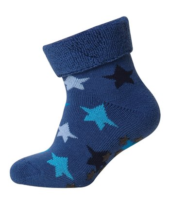 Blue Star Sock