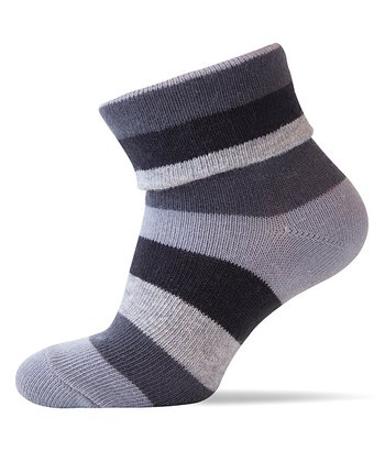 Gray Stripe Socks