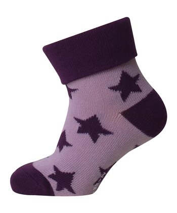 Purple Star Socks