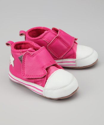 Melton Baby Fuchsia Arrow Sneaker