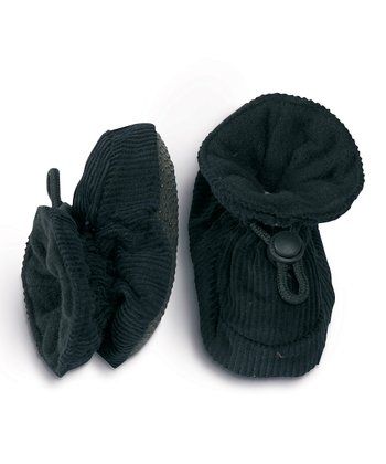 Black Corduroy Booties